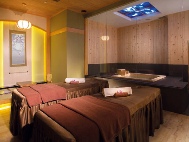 Bliss out at the city's closest thing to an onsen