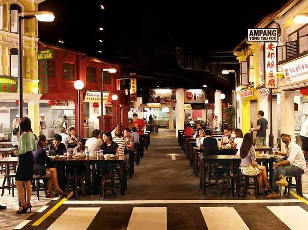 Malaysian Food Street Restaurants In Sentosa Singapore