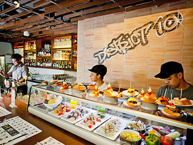 District 10 Bar Tapas Restaurant