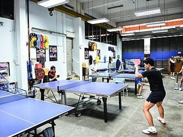 Happy Table Tennis
