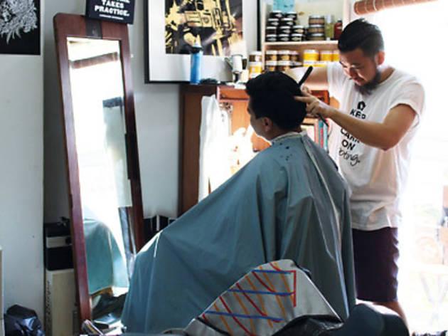 The Panic Room Barber Shop