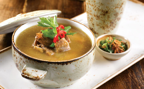 Singapore Culinary Grande Dames Menu at The Clifford Pier