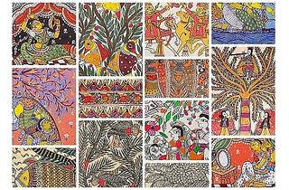 Folk Hues from India