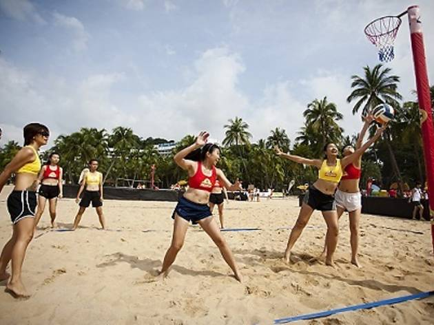 Mission Foods Beach Netball Festival 2013