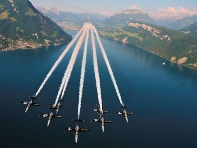 Breitling Jet Team Aerobatics Display