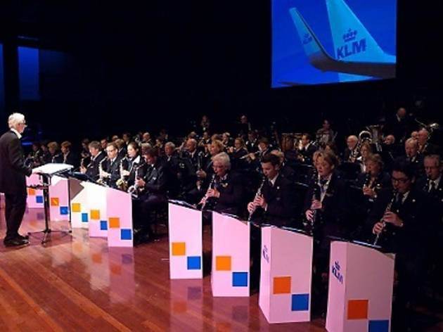 KLM Royal Dutch Airlines Band concert