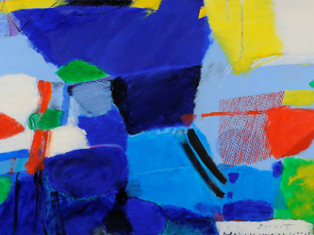 Nuit Sano: Abstract in Blue