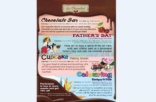 Au Chocolat June Holiday Activities