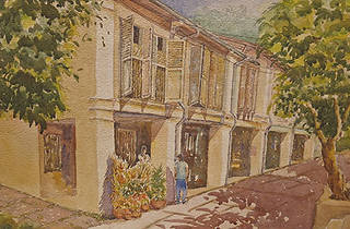 Loon Chee Thin: Singapore Nostalgia, Watercolours