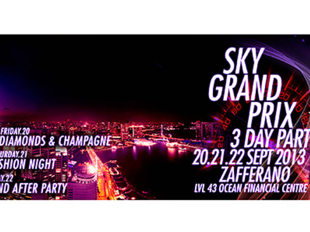 Sky Grand Prix 3-Day Party @ Zafferano