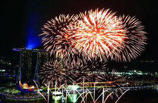 Marina Bay Countdown 2014