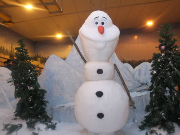 Disney's Olaf the Snowman at Snow City