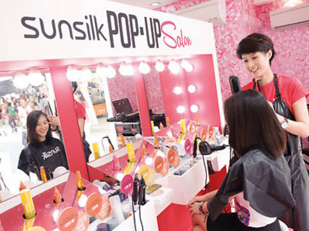 Shopping news: Sunsilk Pop-Up Salon