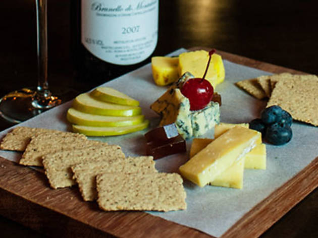 Free Flow Wine and Cheese at The Mad Poet