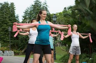 Mom in Balance: Kick Off Workout