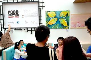 Art Walls at Bugis Food Junction
