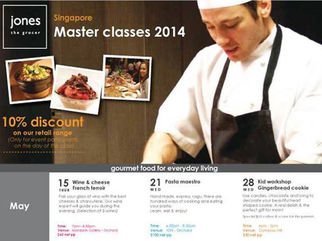 Jones the Grocer Master Classes 2014: Wine and Cheese Pairing