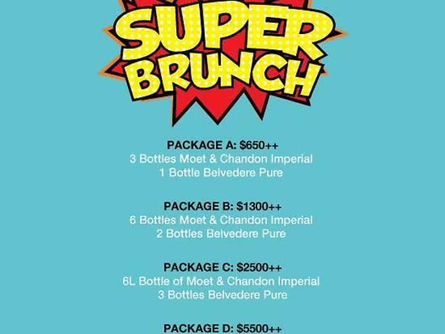 Bacchanalia Super Heroes Brunch