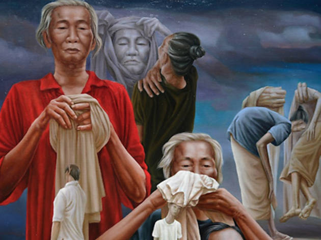 Ivan Sagita: they lay their heads on a soft place