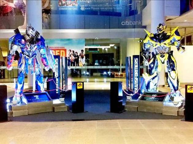 Transformers Roll Out at The Cathay