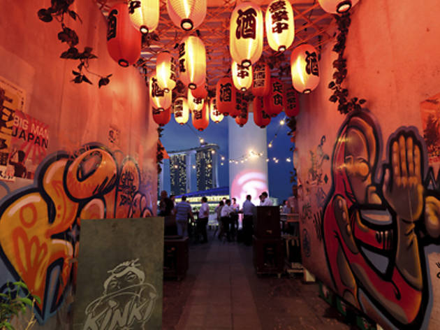 Kinki Rooftop Bar: National Day Drinks Package for 8
