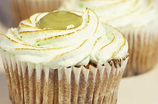 National Day Pandan Kaya Cupcake by The Marmalade Pantry