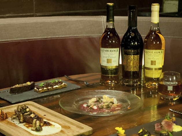 Bedrock Bar & Grill 5-course Glenmorangie Whisky Pairing Gastronomy