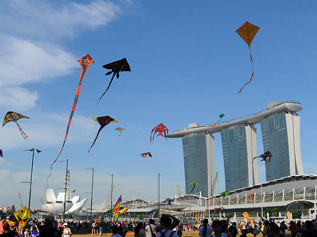 NTUC Income Kite Festival Singapore 2014