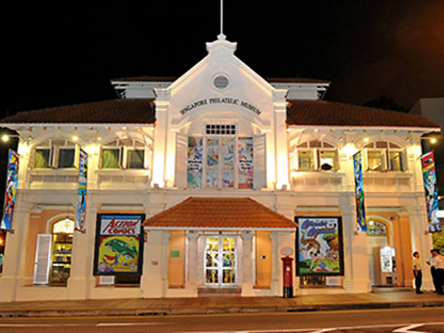 Singapore Night Festival at Singapore Philatelic Museum