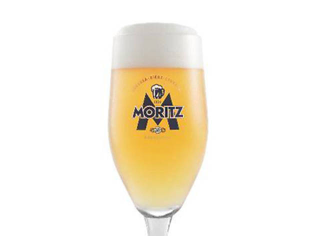 The Market Grill: Moritz Beer Pop-up Bar