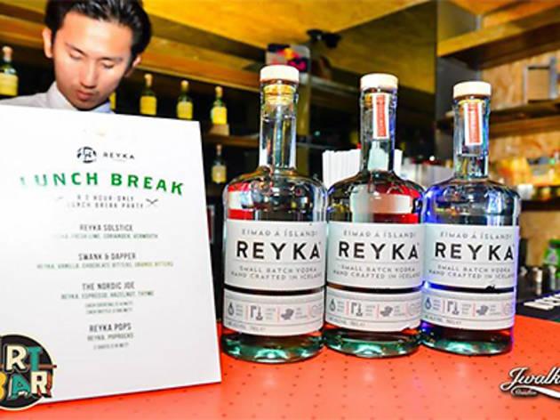 Reyka Lunch Break Party @ Art Bar