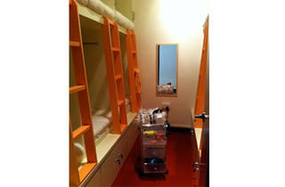 Matchbox5.jpg (The ladies' room comes with an amenities trolley that has a hair straightener and nail polish supplies)