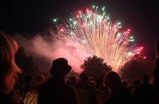 Coram's Fields Fireworks Display