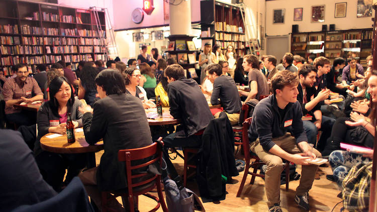 I Like Your Glasses: Literary Speed Dating