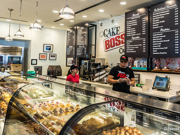 New York food, the Cake Boss Cafe