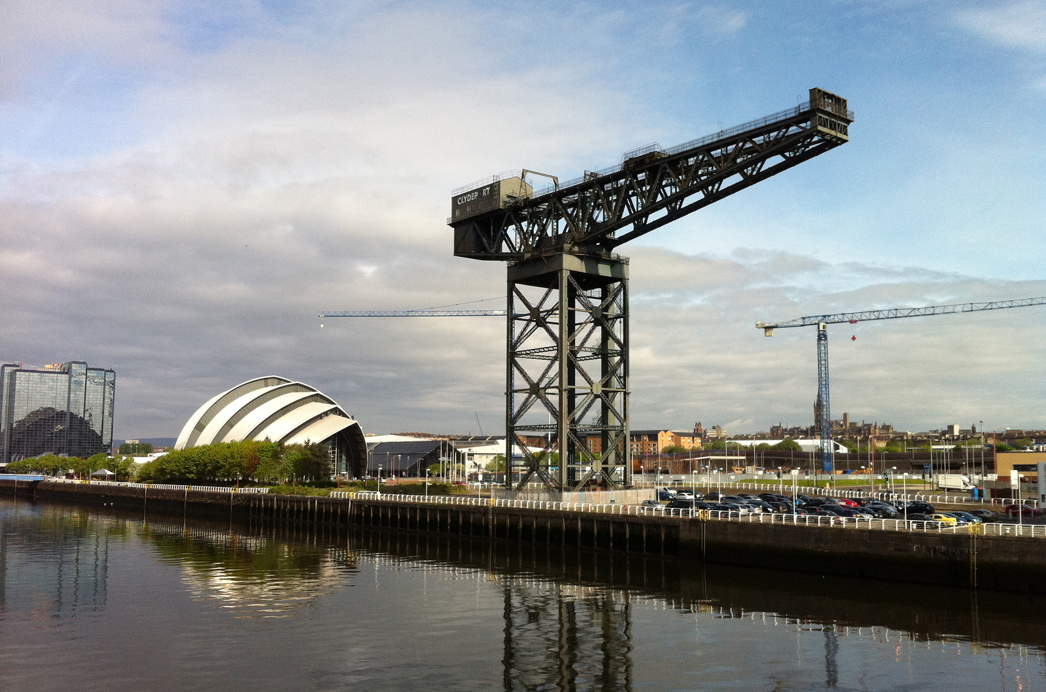 The Finnieston Crane and The Clyde