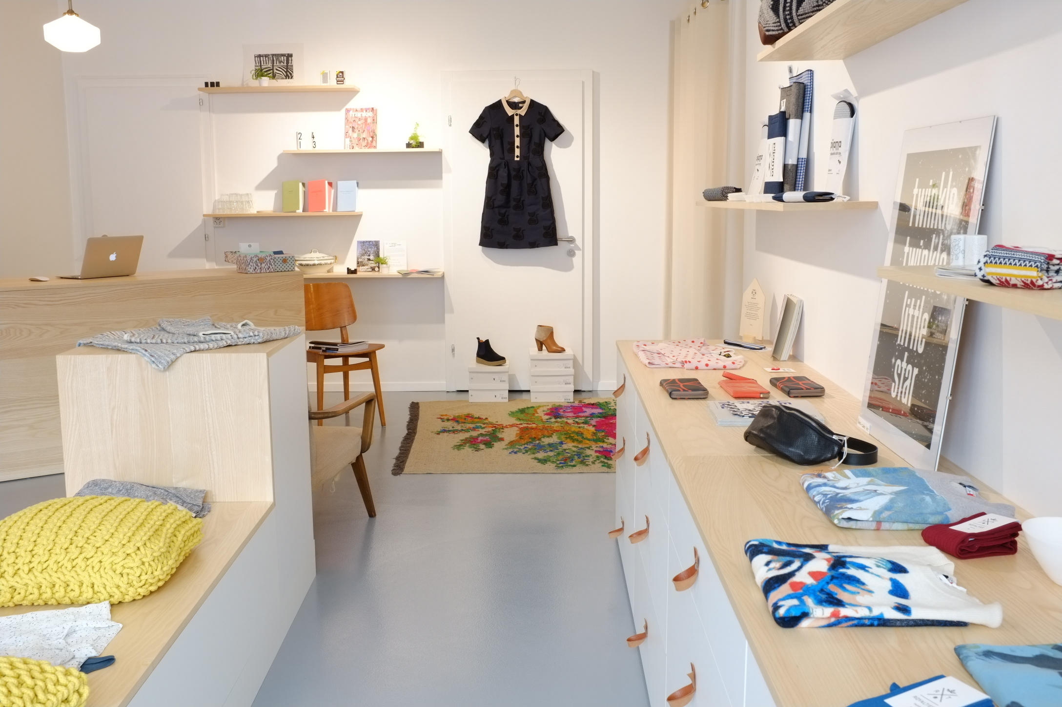 The Liberty Shop is a womenswear fashion boutique in Lausanne