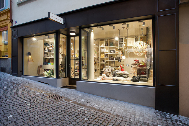 A conceptional ethical lifestyle boutique in Zurich