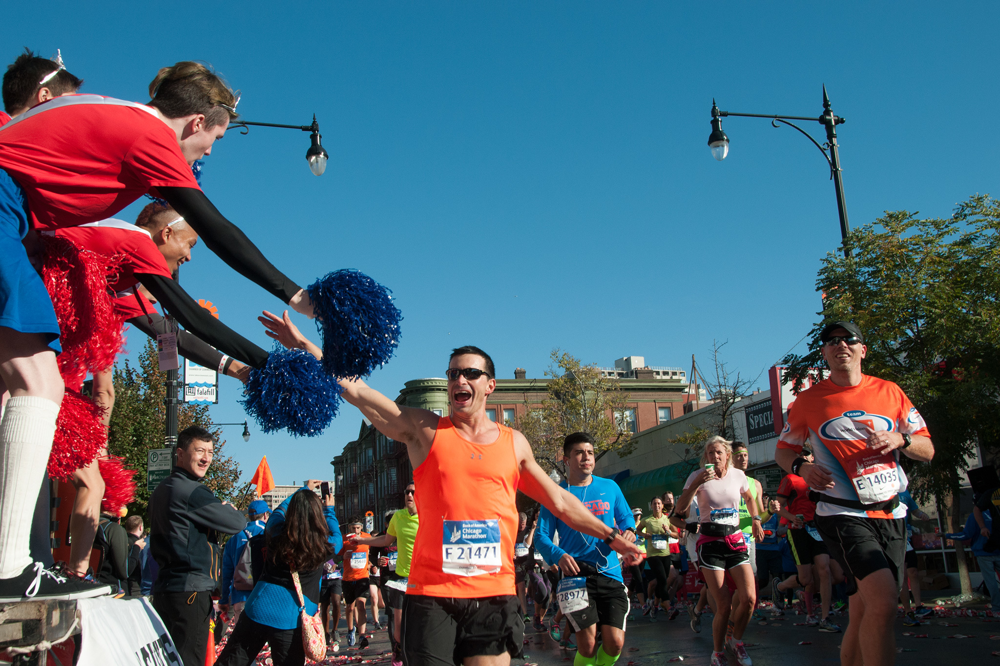 Photos from every stage of the Marathon