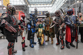 See our video of the best of New York Comic Con 2014