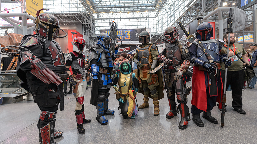 The best of New York Comic Con 2014 (video)