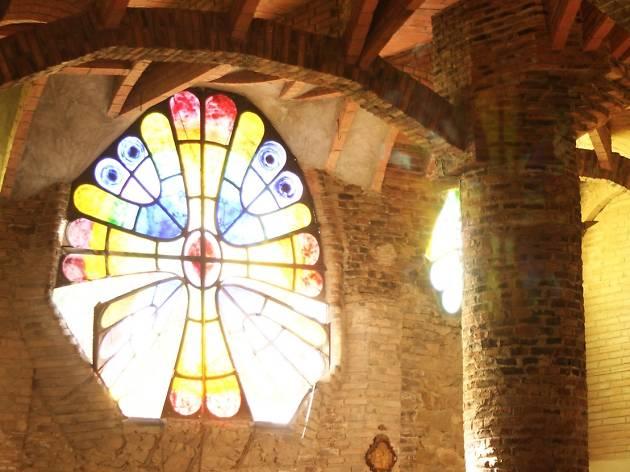Vitrall Cripta de la Colònia Güell