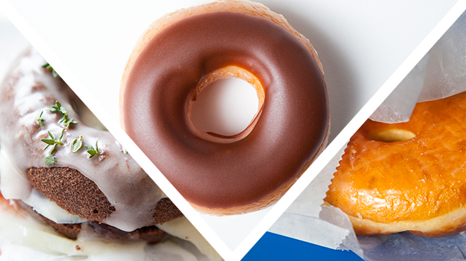 Fact: There is no wrong way to eat a donut.