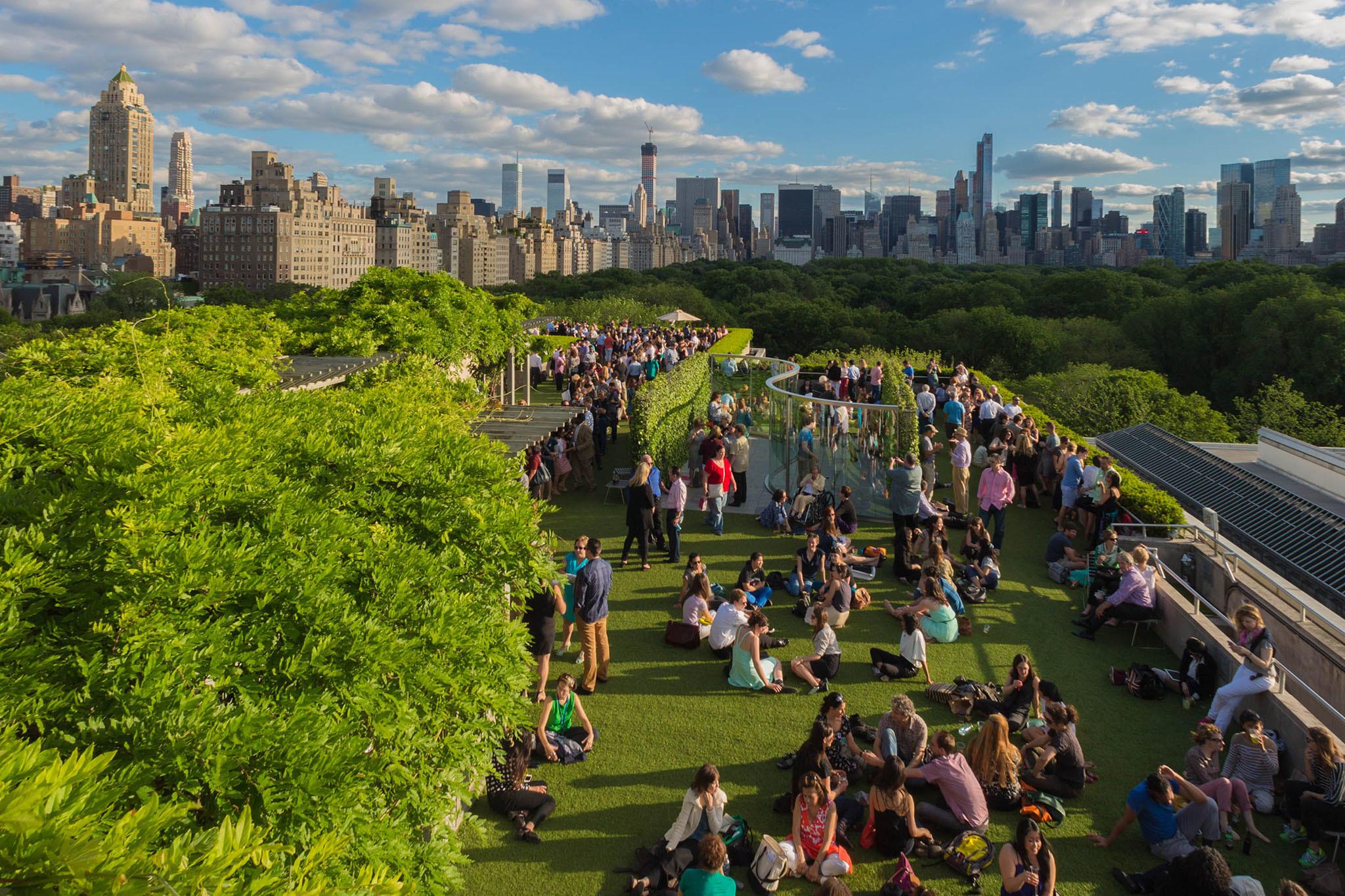 The Metropolitan Museum Of Art rooftop installation will reframe the Manhattan skyline