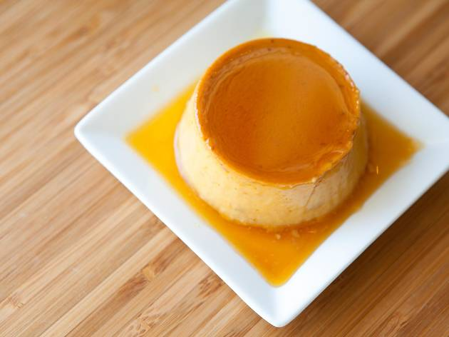 Pumpkin crème caramel at Crème Caramel
