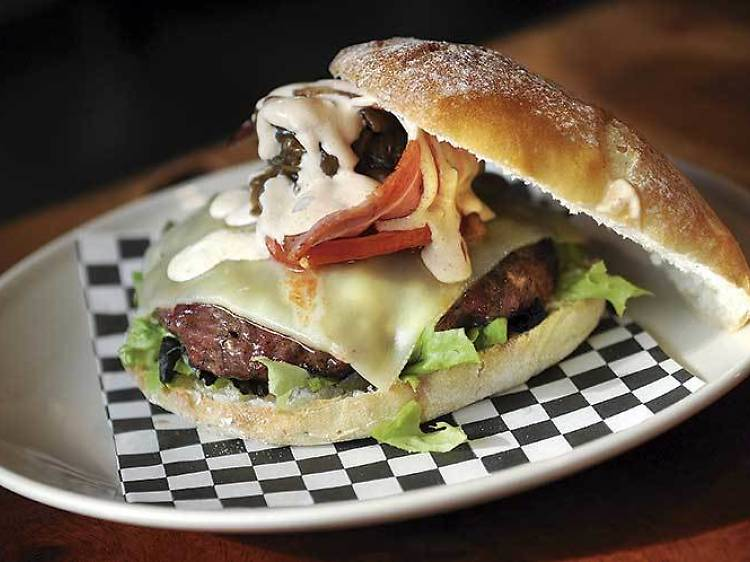 Una 'burger' en Bro Barceloneta