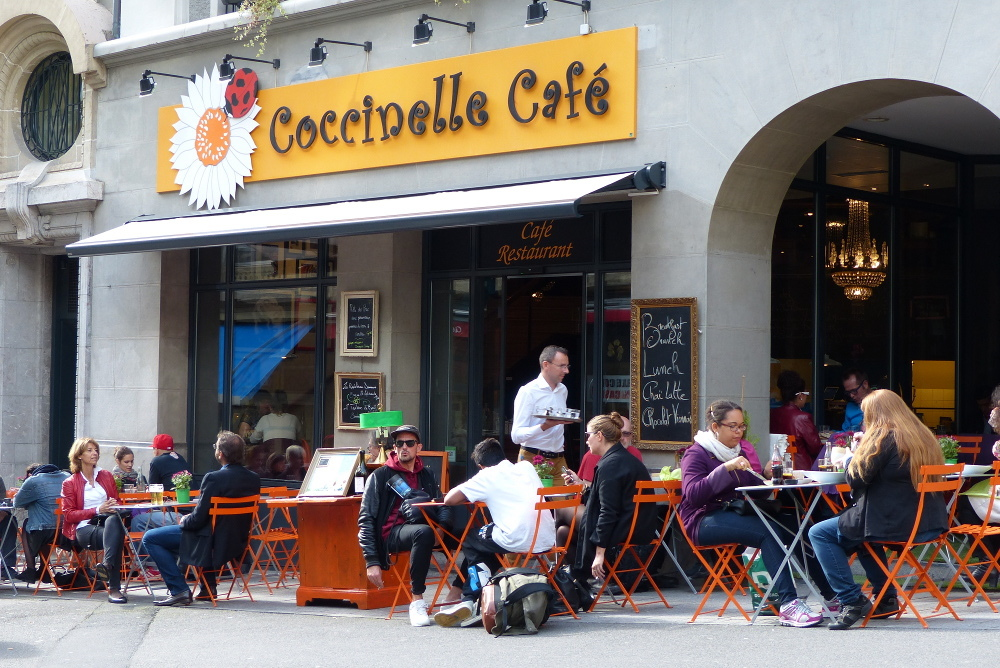 Coccinelle Cafe, Lausanne cafe, Time Out Switzerland