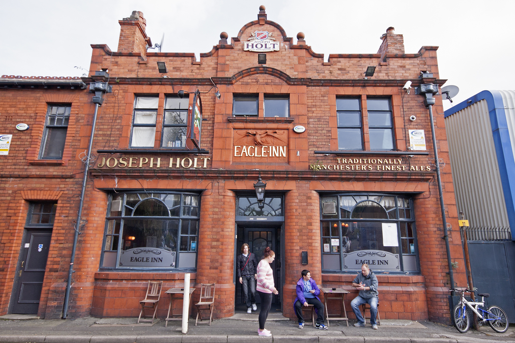 Eagle Inn, Manchester, Front
