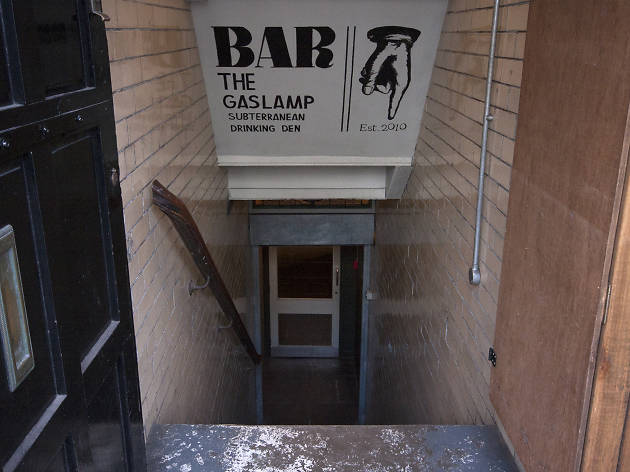 The Gas Lamp, Manchester, Stairs