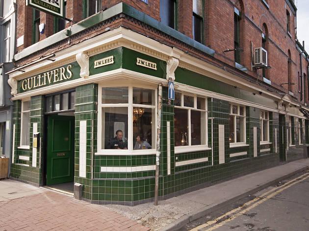 Gullivers, Manchester, Pub
